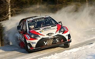 【速報】WRCスウェーデン:トヨタ復帰後初のトップフィニッシュを達成