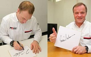 祝・トヨタWRC優勝! ラトバラ&マキネンのサイン色紙をプレゼント