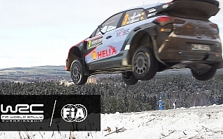 WRCスウェーデン:ティザー動画にみる雪と氷のハイスピードバトル