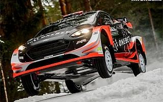 WRCスウェーデン︰出揃ったグラベル仕様の新世代WRカー、シェイクダウン動画