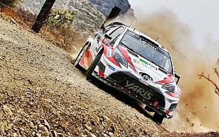 WRCメキシコ:困難に立ち向かうトヨタの戦いぶりを動画でチェック