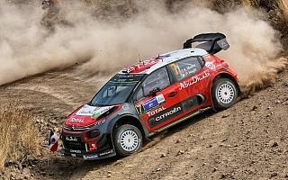 WRCメキシコ:2日目はシトロエンのミークが首位浮上