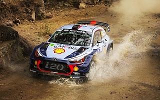 WRCメキシコ:シェイクダウン、トップタイムはヌービル