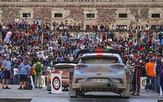 WRCメキシコ:デイ2最終スーパーSS 対戦結果