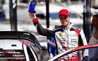 【トヨタWRC速報】ラリーフランスでラトバラが総合4位、パワーステージでも最速タイム