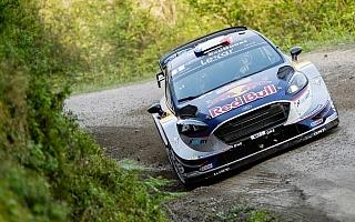 WRCフランス:シェイクダウン、トップタイムはオジエ