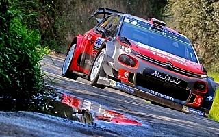 WRCフランス:初日を終えてシトロエンのミークが首位