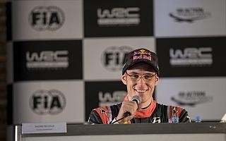 WRCアルゼンチン:ヌービル「マホネンは自分が勝つ方に賭けてくれた」プレ会見