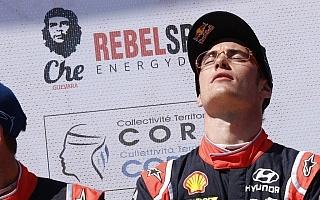 WRCフランス・ポスト会見:今季初優勝のヌービル「フィニッシュして涙が浮かんだのは初めて」