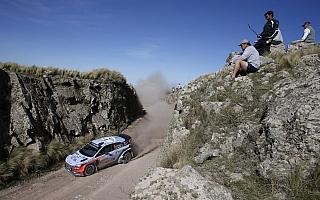 WRCアルゼンチン:ヒュンダイは2連勝を視野に入れる