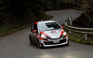 トヨタ、スポーツ制御CVTヴィッツで全日本ラリーJN3クラス2位表彰台を獲得