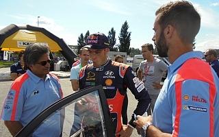 ヒュンダイのミシェル・ナンダン「センターデフの復活はいい結果をもたらしてくれる」WRCフランス現地インタビュー
