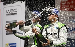 WRCフランス:WRC2はミケルセンが完全勝利