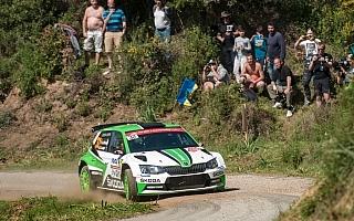 WRCフランス:WRC2はミケルセンがトップ