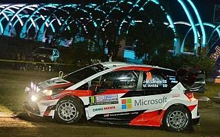 WRCアルゼンチン:コルドバ市街地でのSS1を終えてラトバラが5番手「とても良いフィーリング」