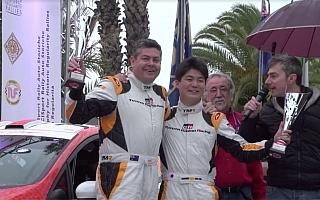 新井大輝がラリーサンレモでクラス4位フィニッシュ、勝田貴元はクラス10位