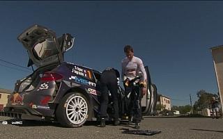 WRCフランス:最終パワーステージの激闘を再び、デイ3ハイライト動画集