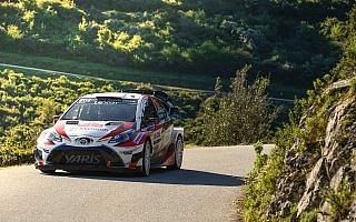 【トヨタWRC速報】WRCフランス2日目、ラトバラが総合4位に浮上「午後は自信を持って攻め切れた」
