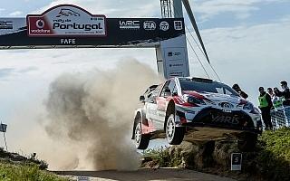 WRCポルトガル:3台のヤリスWRCが揃ってトップ10以内で完走