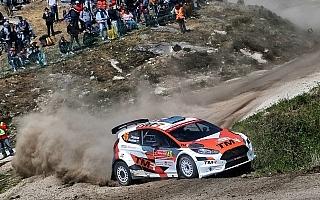 WRCポルトガル:勝田と新井、南欧グラベルの洗礼を浴びる