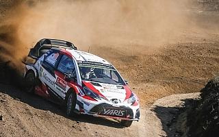 WRCポルトガル:ヤリスWRC、3台そろってラリー最終日へ