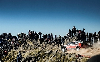 WRCアルゼンチン:シトロエンのブリーンはラリーフィニッシュ前にリタイア