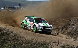 WRCポルトガル:WRC2はデイ2を終えてアンドレアス・ミケルセンが圧勝ペース