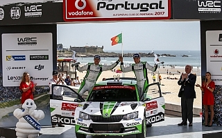 WRCポルトガル:最終ステージでミケルセンが痛恨のクラッシュ、ティデマンドがWRC2優勝