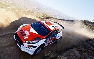 WRCポルトガル:WRC2の勝田貴元と新井大輝は試練のスタート