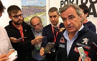 WRCポルトガル訪問のサインツ「今のWRカーをドライブできたら楽しいだろうね」