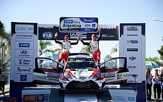 WRCアルゼンチン:ヤリスWRC、苛酷なグラベルラリーを2台揃って完走
