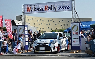全日本ラリー若狭:今季最多の51台がエントリー、鎌田卓麻が戦線復帰