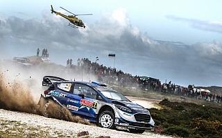 WRCポルトガル:波乱の2日目、Mスポーツのタナクがトップに