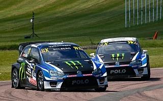 世界RX英国:ペター・ソルベルグが中間リザルトでトップ