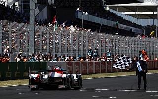 ル・マン24Hレース:トヨタTS050 HYBRID #8号車が9位完走、総合優勝はポルシェLMP #2号車