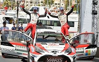 WRCイタリア:ラトバラが2位フィニッシュ、ラッピはパワーステージで最大ポイントを獲得