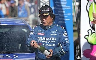 全日本ラリーモントレー:新井敏弘、モントレー3連覇を達成