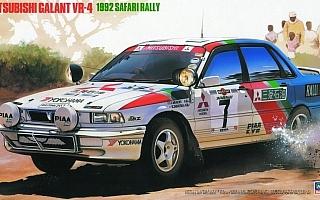 """ハセガワ、三菱ギャランVR-4 """"1992 サファリラリー""""のプラモデルを再生産"""