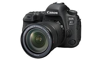 キヤノン、「流し撮り」モードを備えたフルサイズカメラ「EOS 6D Mark II」と世界最小・最軽量の「EOS Kiss X9」を発表