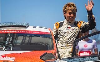 WRCイタリア:勝田貴元がWRC2部門3位入賞