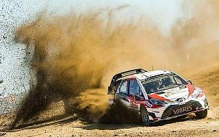 WRCイタリア:サルディニア島のラフグラベルに挑むトヨタ「3台揃っての完走を目指す」