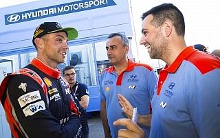 WRCイタリア:パッドン「一切ブレずにプラン通りに臨んだ」デイ2コメント集
