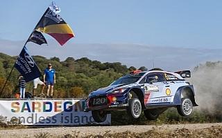 WRCイタリア:シェイクダウンのトップはソルド、ミケルセンは4番手タイ