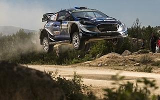 WRCイタリア:パッドンがクラッシュ、タナックが首位に浮上