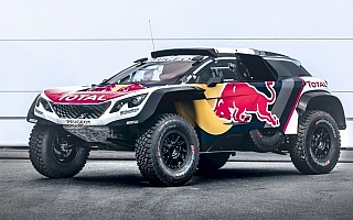 プジョー3008 DKR Maxi発表、ローブがシルクウェイラリーで実戦デビュー