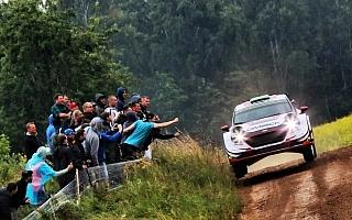 WRCポーランド:SS1を終えてMスポーツのエバンスが首位発進