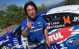 全日本ラリーモントレー【速報】新井敏弘、接戦を制してシーズン初勝利