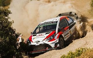 WRCイタリア:ヤリスWRC勢は着実な滑り出し