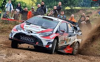 WRCポーランド:ヤリスWRCは3台揃って堅調なスタート、ラトバラが4番手