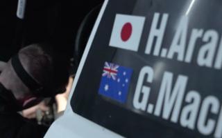 WRCイタリア:新井大輝はSS1直前に電子系トラブル、リエゾンモードで走行